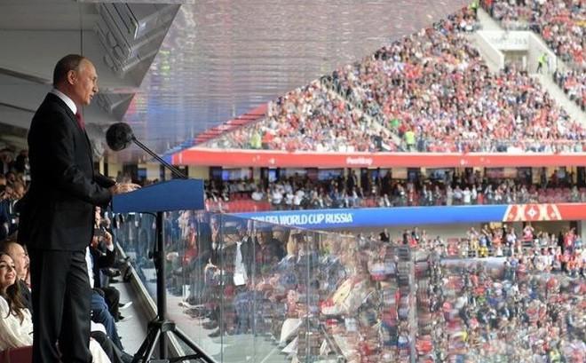 Ông Putin ngỏ ý chia sẻ với Mỹ kinh nghiệm tổ chức World Cup