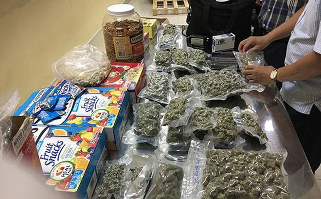 Phát hiện 4kg cần sa giấu tinh vi trong lô hàng thực phẩm ở cửa khẩu sân bay Tân Sơn Nhất