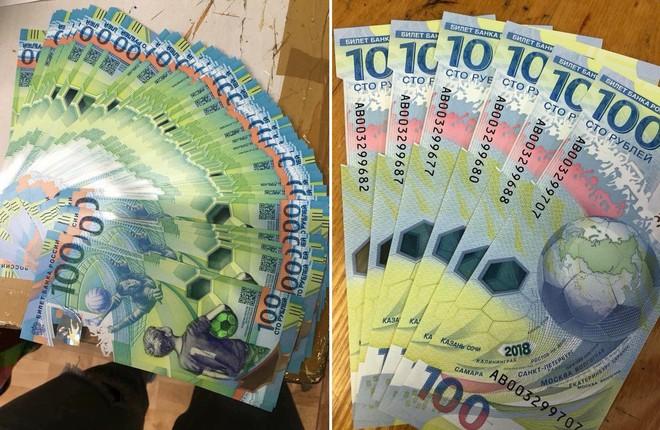 Trước giờ bóng lăn, tiền lưu niệm World Cup 2018 bất ngờ đắt gấp 10 lần - Ảnh 1.
