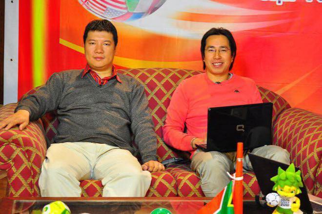 BLV Quang Huy và nhà báo Anh Ngọc tin Việt Nam sẽ có bản quyền World Cup 2018 - Ảnh 1.