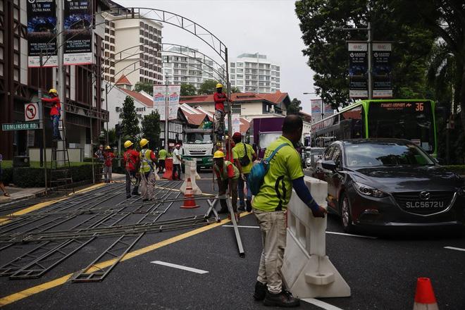 Singapore tất bật lập chốt an ninh, phân luồng giao thông trước thượng đỉnh Mỹ - Triều - Ảnh 2.