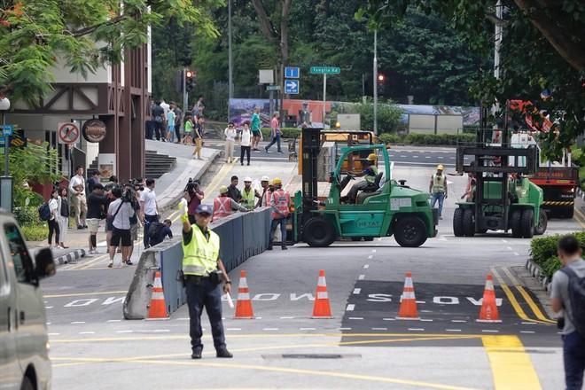 Singapore tất bật lập chốt an ninh, phân luồng giao thông trước thượng đỉnh Mỹ - Triều - Ảnh 5.
