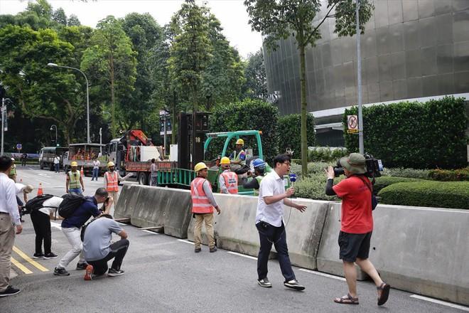 Singapore tất bật lập chốt an ninh, phân luồng giao thông trước thượng đỉnh Mỹ - Triều - Ảnh 9.