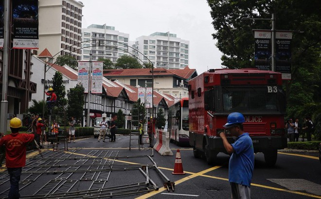 Singapore tất bật lập chốt an ninh, phân luồng giao thông trước thượng đỉnh Mỹ - Triều
