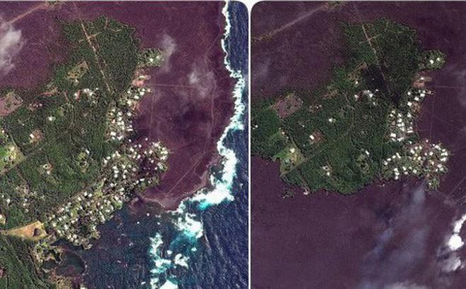 """Núi lửa Kilauea đã giúp Hawaii """"mọc"""" thêm hàng km đất mới mà vẫn chưa có dấu hiệu dừng lại"""