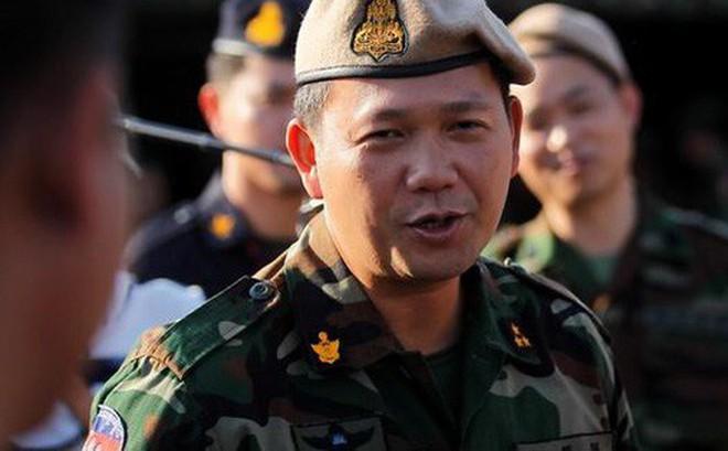 Con trai thủ tướng Campuchia được thăng tướng 4 sao