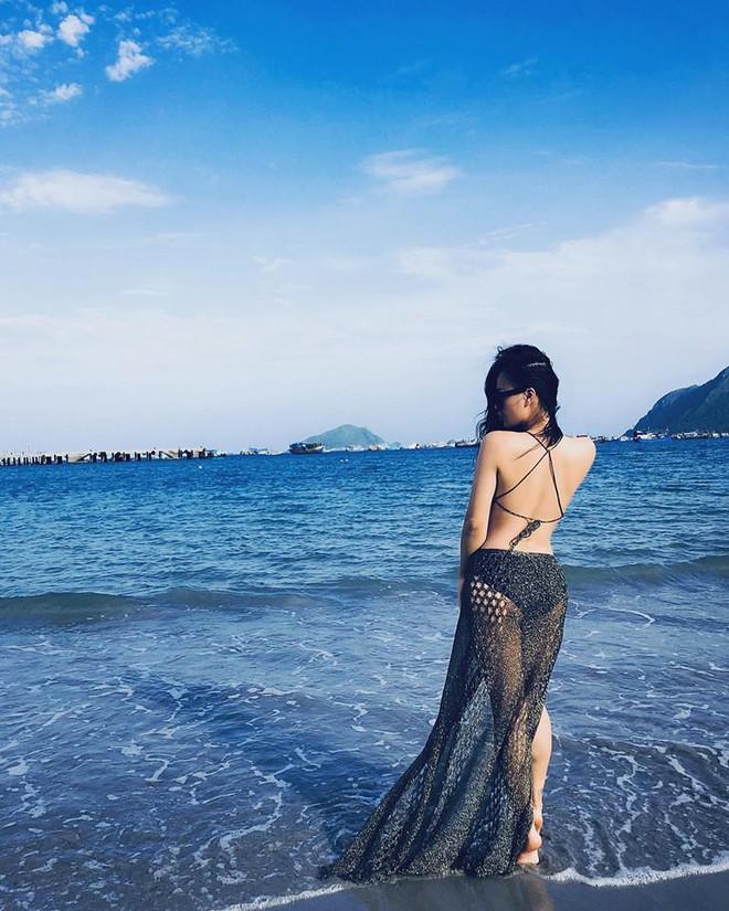 DJ Tít khoe ảnh bán nude ở biển giữa tin đồn rạn nứt hôn nhân - Ảnh 4.