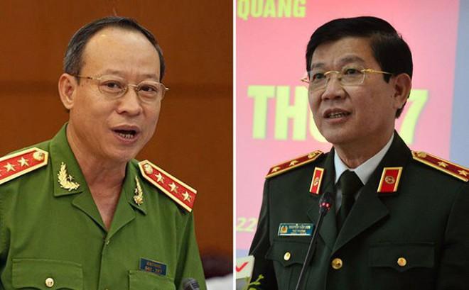 Bộ Công an xác nhận việc điều chỉnh phân công công tác với hai Thứ trưởng