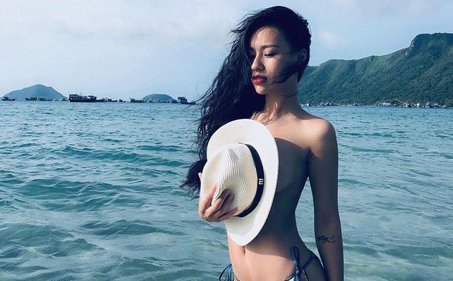 DJ Tít khoe ảnh bán nude ở biển giữa tin đồn rạn nứt hôn nhân