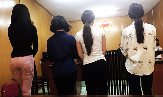 4 tú bà trong đường dây hoa hậu, diễn viên bán dâm đồng loạt sinh con - Ảnh 1.
