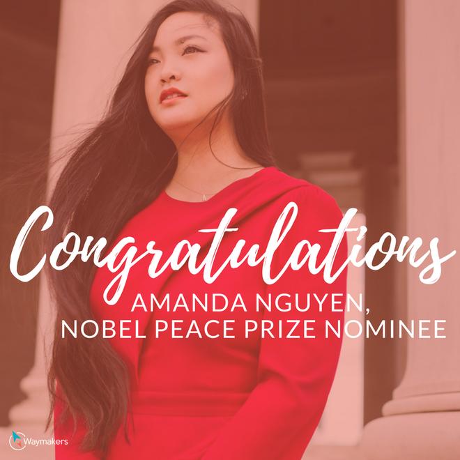 9X gốc Việt từng bị tấn công tình dục được đề cử giải Nobel Hoà bình - Ảnh 1.