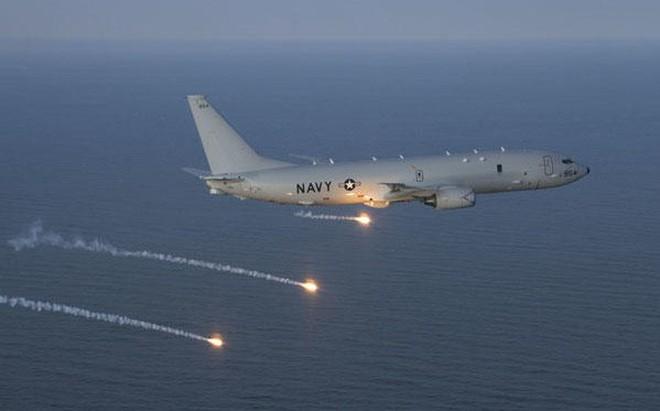 Máy bay tuần thám biển P-8 giúp các đồng minh của Mỹ chống Trung Quốc