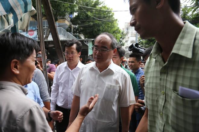 Chủ tịch quận 2: 44 hộ dân Thủ Thiêm đồng ý rời nhà tạm về ở chung cư - Ảnh 2.
