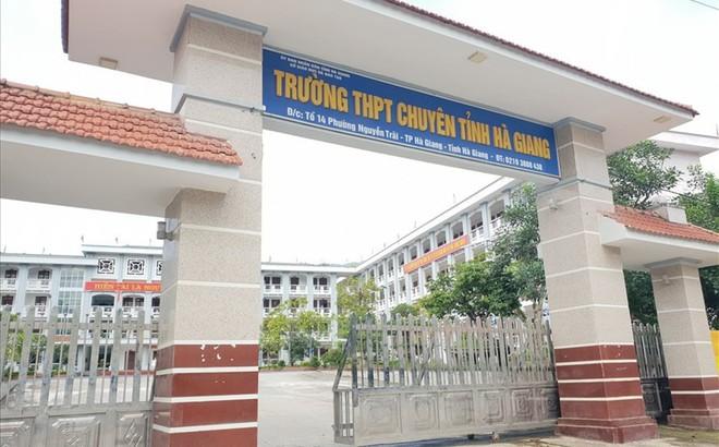 Trường THPT chuyên Hà Giang nói gì về lực học của 3 học sinh có kết quả cao nhất cả nước?
