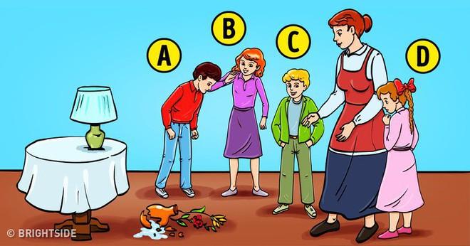 Nhận biết tính cách của trẻ qua thử nghiệm chiếc bình hoa bị vỡ - Ảnh 1.
