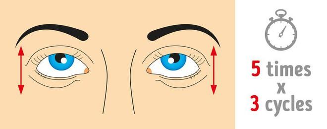 Thị lực suy giảm mạnh do lạm dụng công nghệ: 8 bài tập thể dục tốt nhất để cứu đôi mắt - Ảnh 3.