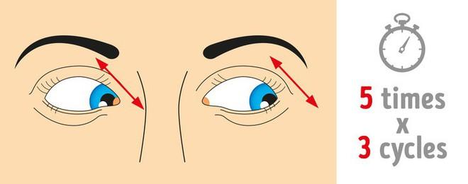 Thị lực suy giảm mạnh do lạm dụng công nghệ: 8 bài tập thể dục tốt nhất để cứu đôi mắt - Ảnh 4.