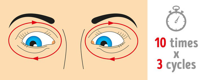 Thị lực suy giảm mạnh do lạm dụng công nghệ: 8 bài tập thể dục tốt nhất để cứu đôi mắt - Ảnh 5.