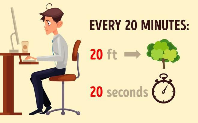 Thị lực suy giảm mạnh do lạm dụng công nghệ: 8 bài tập thể dục tốt nhất để cứu đôi mắt - Ảnh 8.