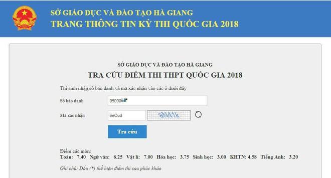 Bất ngờ thí sinh Hà Giang 9 điểm Toán sau chấm thẩm định bị điểm liệt, trượt tốt nghiệp - Ảnh 3.