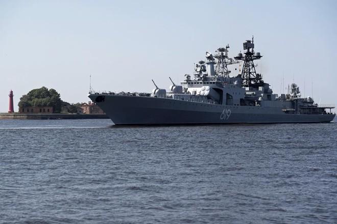 Nga duyệt binh hải quân năm 2018: Hơn 40 tàu chiến mạnh nhất, có một ngôi sao rất sáng! - Ảnh 4.
