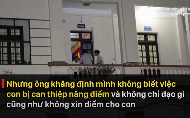 """Ông Triệu Tài Vinh nói """"đang nắm xem ai, lãnh đạo nào nhắn tin xin điểm"""""""