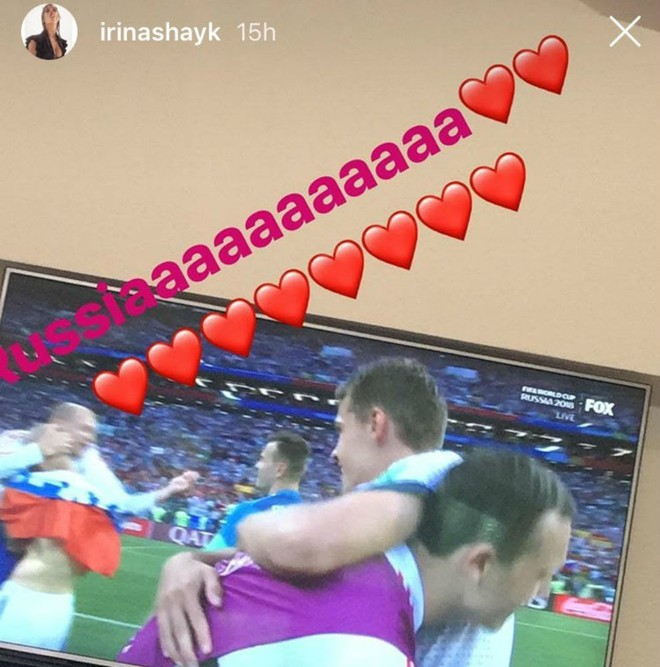 Một ngày sau khi Ronaldo cúi đầu ra về, Irina Shayk nhận niềm vui lớn tại World Cup - Ảnh 2.