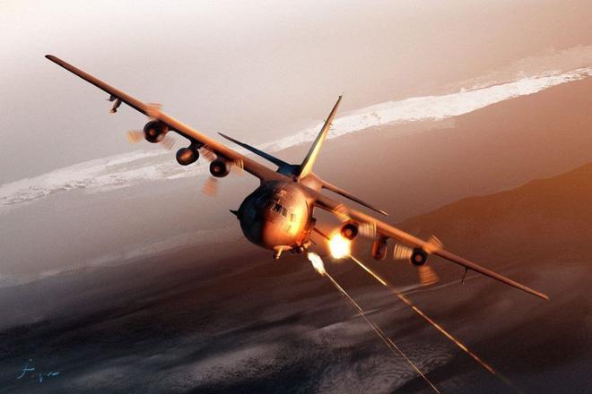 Phát bắn thần kỳ của TLPK VN: Sát thủ AC-130 sập bẫy, tan xác-KQ Mỹ hốt hoảng tháo chạy - Ảnh 4.