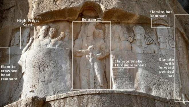 Lăng mộ hùng vĩ của những vị vua Ba Tư quyền lực nhất: Xây trên cả quả núi - Ảnh 4.