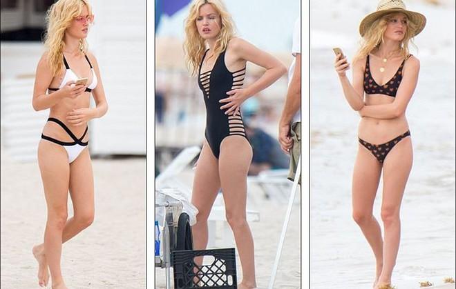 Con gái huyền thoại Rolling Stones hóa thiên thần bikini quyến rũ   - Ảnh 1.