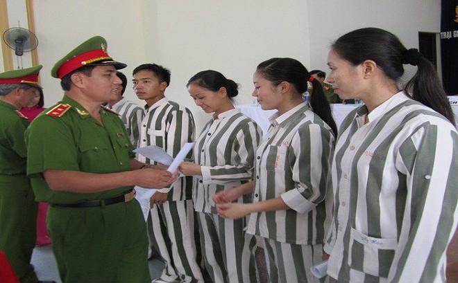 Dự kiến tháng 8 sẽ quyết định tha tù trước thời hạn cho phạm nhân