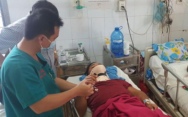 Vụ tai nạn giữa 2 xe khách làm 24 người bị thương: Nạn nhân văng khỏi giường nằm, la hét kêu cứu