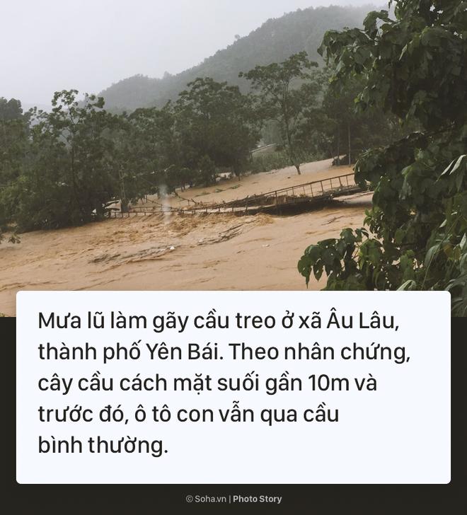 [Photo Story] Cảnh phố như sông ở nhiều tỉnh thành sau cơn bão số 3 - Ảnh 1.