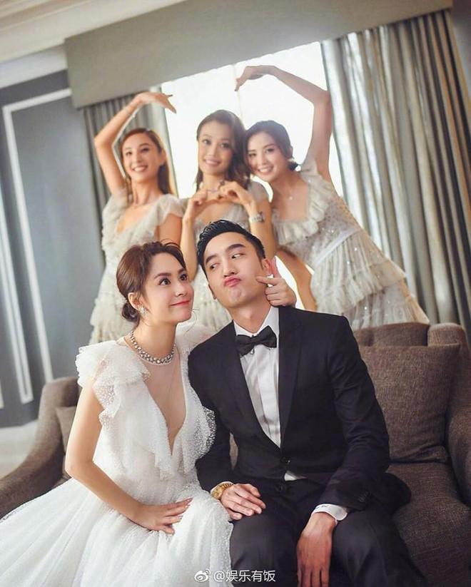 Chung Hân Đồng làm đám cưới tại Hong Kong, Trần Quán Hy và scandal ảnh nóng 10 năm trước bị gọi tên - Ảnh 1.