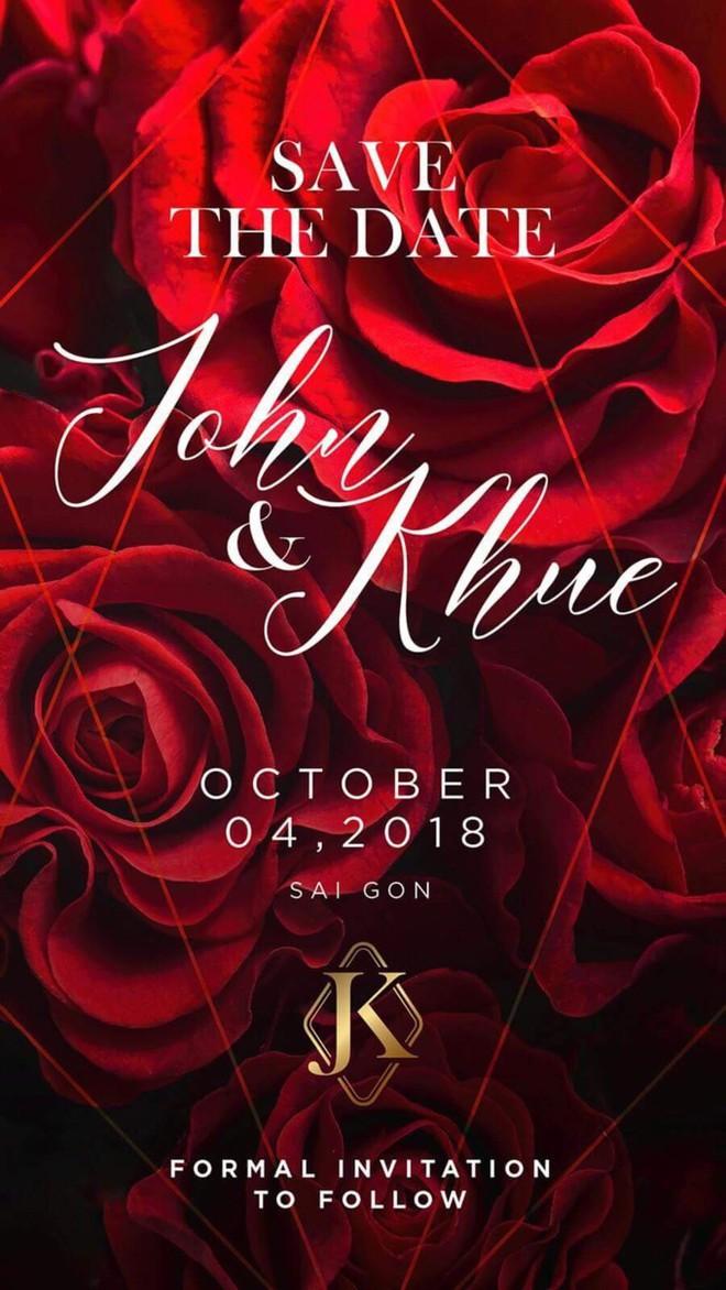 Đám cưới của Lan Khuê và đại gia Tuấn John sẽ được tổ chức vào ngày 4/10? - Ảnh 1.