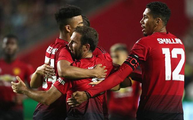 Thi đấu nhạt nhòa, Man United đón nhận con số đầy lo ngại trên đất Mỹ
