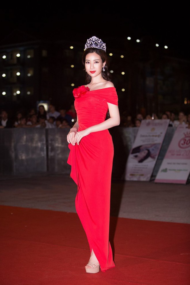 Hoa hậu Ngọc Khánh tái xuất, khiến khán giả ngỡ ngàng vì nhan sắc không tuổi - Ảnh 5.