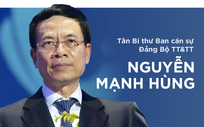 Chân dung tân Bí thư Ban cán sự Đảng Bộ TT&TT Nguyễn Mạnh Hùng