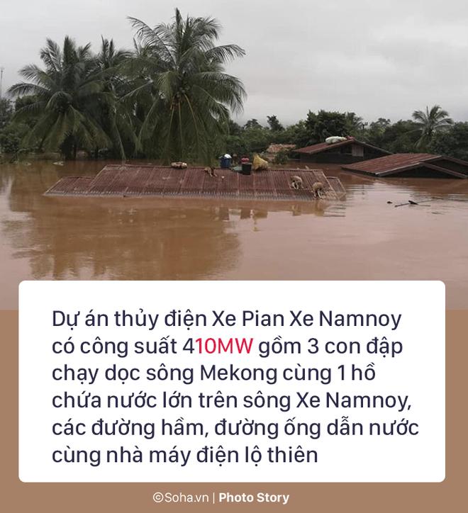 Vỡ đập thủy điện Lào: Người dân leo cây chờ cứu hộ, khắc phục sự cố phải chờ đến mùa khô - Ảnh 19.