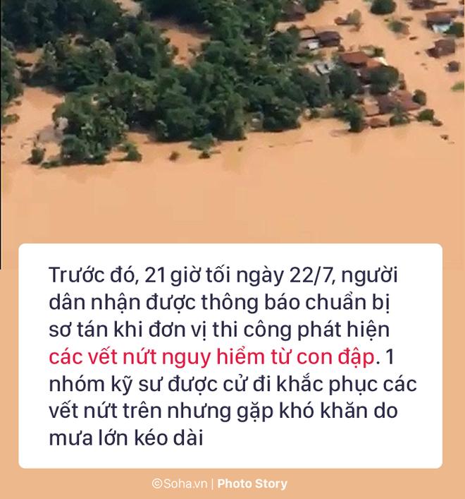 Vỡ đập thủy điện Lào: Người dân leo cây chờ cứu hộ, khắc phục sự cố phải chờ đến mùa khô - Ảnh 3.