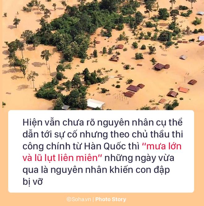 Vỡ đập thủy điện Lào: Người dân leo cây chờ cứu hộ, khắc phục sự cố phải chờ đến mùa khô - Ảnh 9.