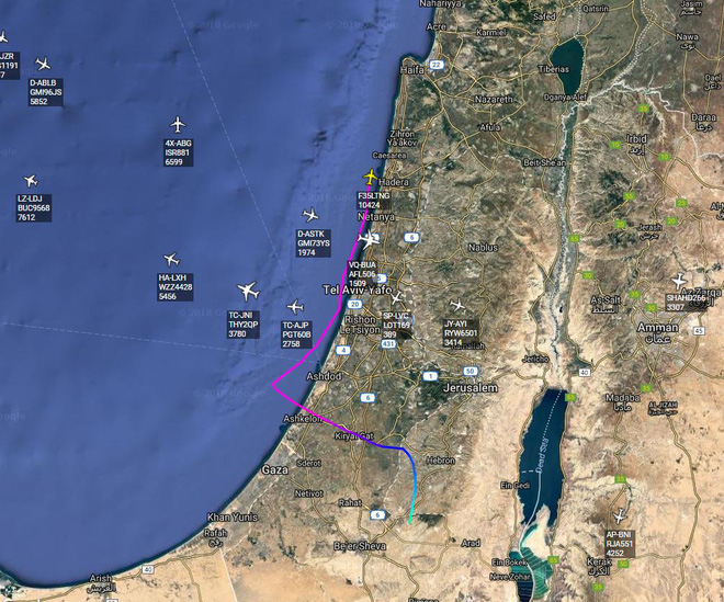 Siêu tiêm kích tàng hình F-35 của Israel vô tình bị tóm sống? - Ảnh 1.