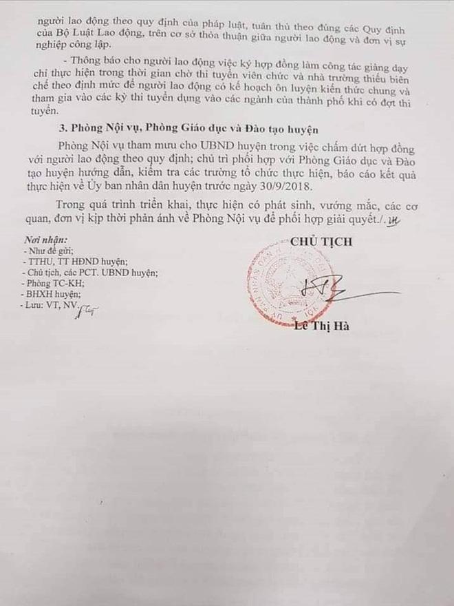 600 giáo viên hợp đồng Hà Nội trước nguy cơ mất việc - Ảnh 2.