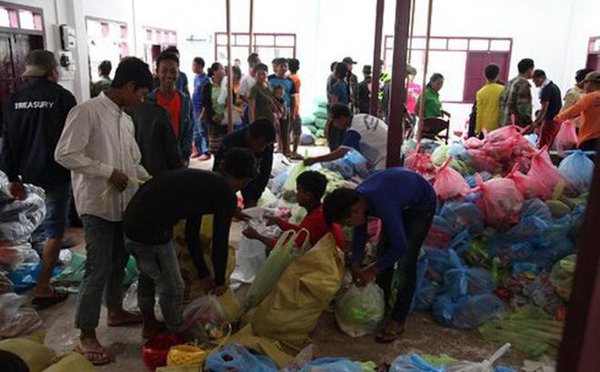 """Vỡ đập thủy điện tại Lào: """"Nước lên nhanh nên không kịp mang gì hết"""""""