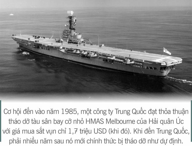 [Photo Story] 3 thương vụ vớ bở và 2 lần vồ hụt của Trung Quốc trên hành trình tự chế tạo tàu sân bay - Ảnh 2.