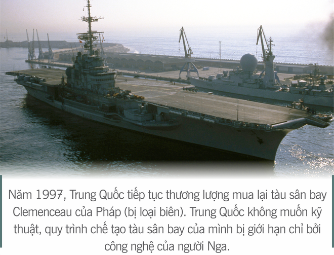 [Photo Story] 3 thương vụ vớ bở và 2 lần vồ hụt của Trung Quốc trên hành trình tự chế tạo tàu sân bay - Ảnh 7.