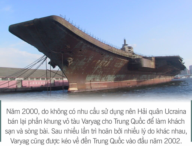 [Photo Story] 3 thương vụ vớ bở và 2 lần vồ hụt của Trung Quốc trên hành trình tự chế tạo tàu sân bay - Ảnh 10.