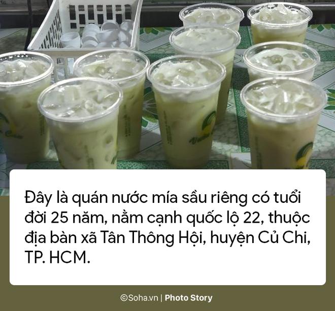 Sự thật về quán nước mía sầu riêng kiếm nửa tỷ đồng một tháng ở Sài Gòn - Ảnh 1.
