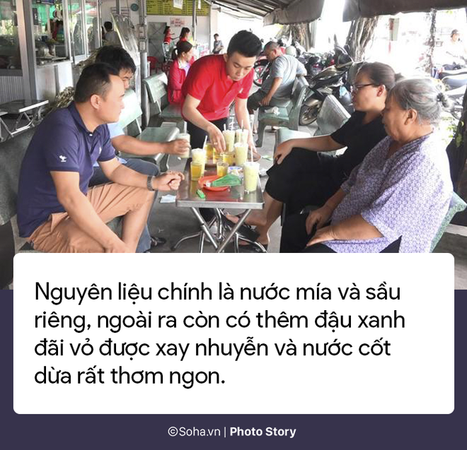 Sự thật về quán nước mía sầu riêng kiếm nửa tỷ đồng một tháng ở Sài Gòn - Ảnh 2.