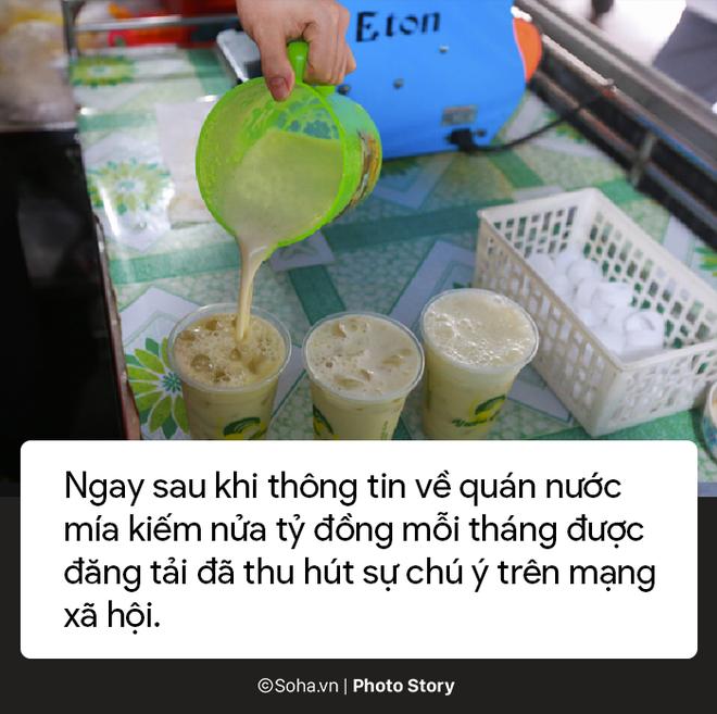 Sự thật về quán nước mía sầu riêng kiếm nửa tỷ đồng một tháng ở Sài Gòn - Ảnh 6.